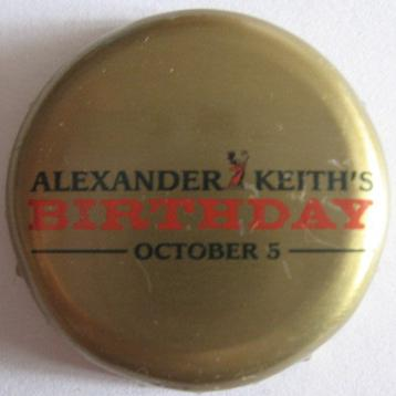 Alexander Keith\'s Birthday - 5 October