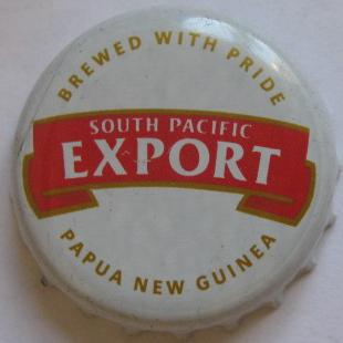 South Pacific Export - Brewed with Pride - Papua New Guinea