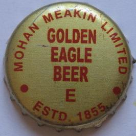 Golden Eagle Beer Mohan Meakin Limited - ESTD. 1855